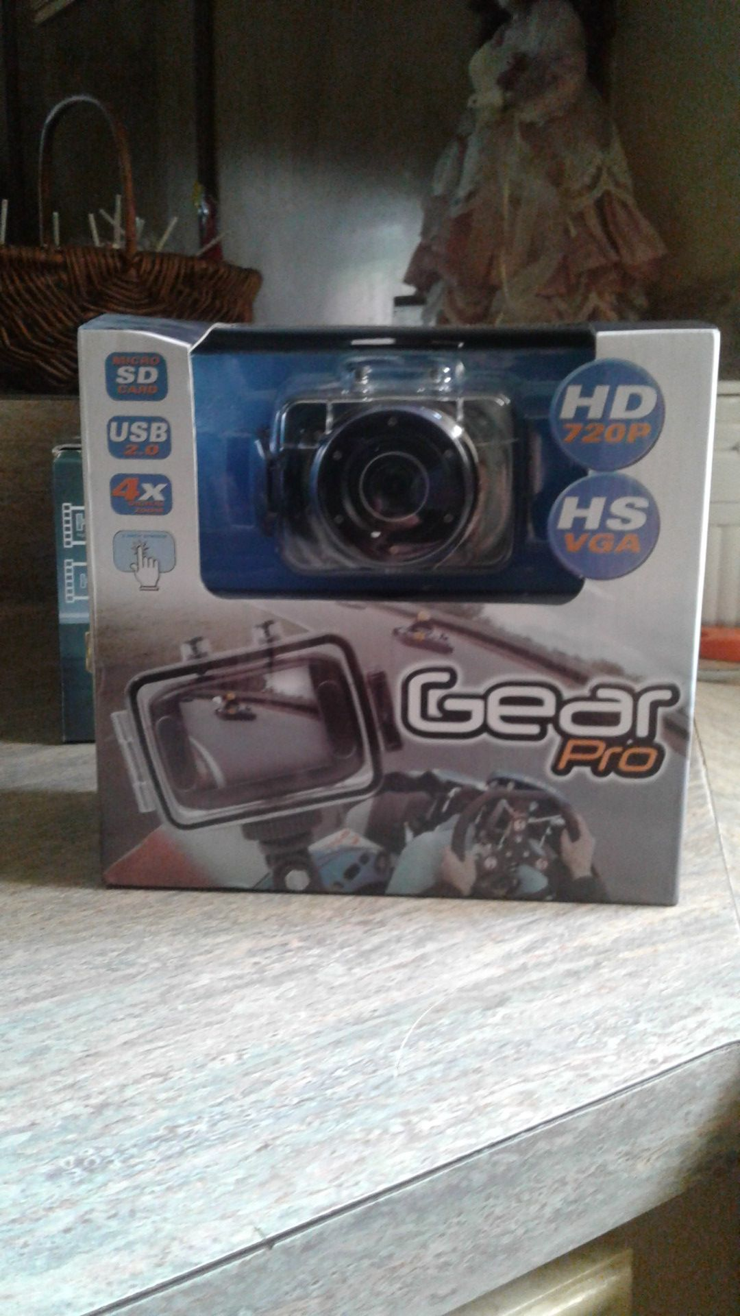 Action camcorder gear pro