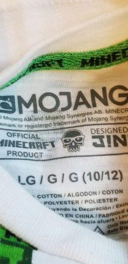 Minecraft Youth Shirt