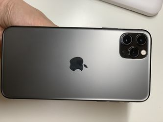 Gray iPhone 11 pro max 256Gb in great conditions Thumbnail