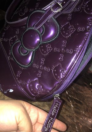 f3a93ed82fb8 Loungefly Hello Kitty purple embossed purse   bag for Sale in Hawaiian  Gardens