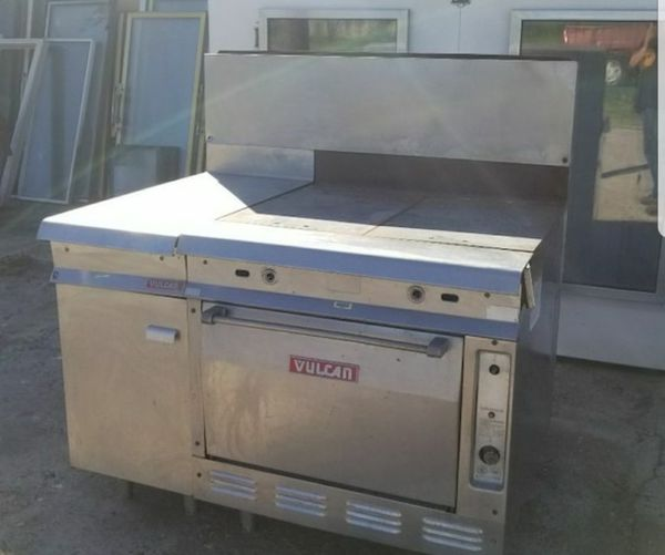 Vulcan Commercial Gas Oven Stove Stainless Steel