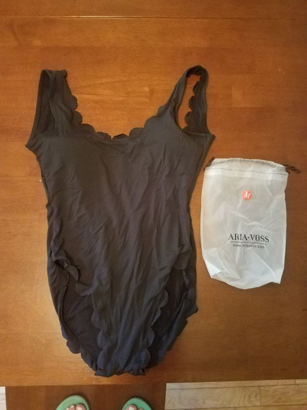 bdc878d00bf Aria Voss 1 piece black bathing suit size M for Sale in Costa Mesa ...