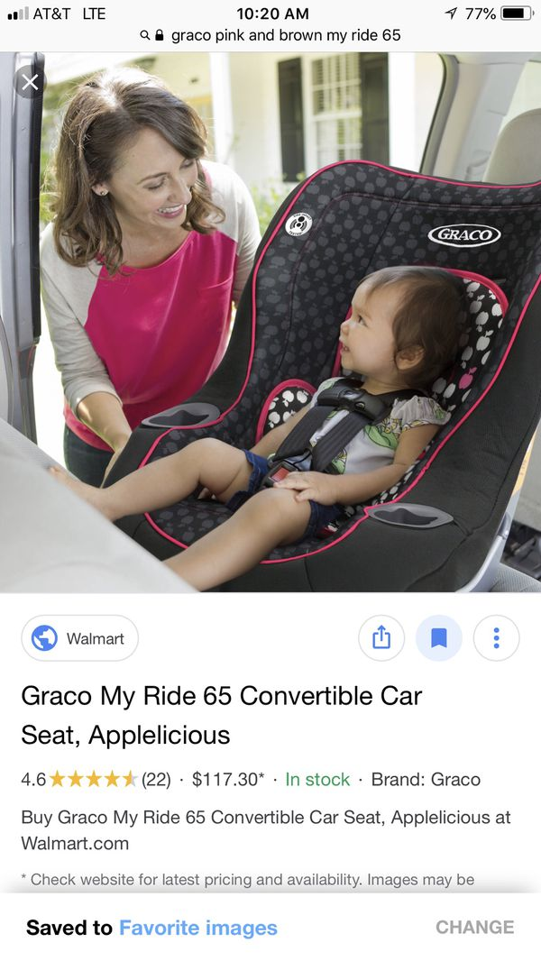Graco My Ride 65 Convertible Car Seat For Sale In Charlotte NC