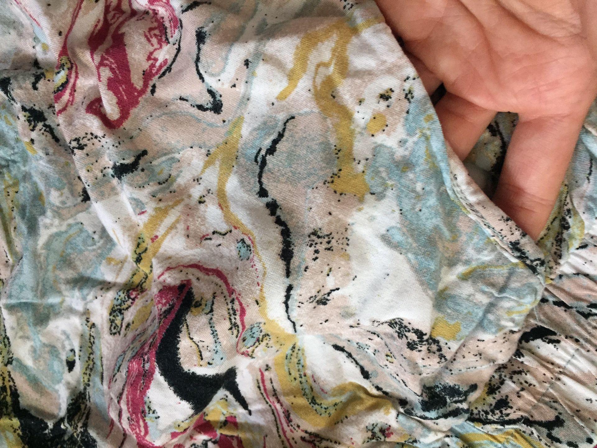 Size small fabric shorts