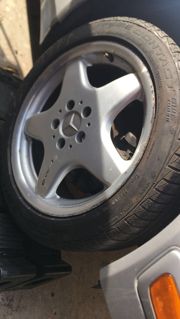 Mercedes Rims For Sale >> Staggered Amg Mercedes Rims And Tires For Sale In Los Angeles Ca Offerup
