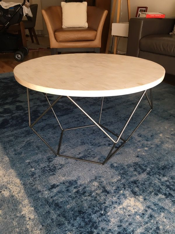 West Elm Origami Coffee Table Medium For Sale In Fremont Ca Offerup