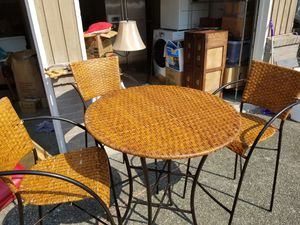 High Chair and Table for Sale in Seattle, WA