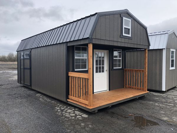 12x24 Lofted Barn Cabin for Sale in Centralia, WA - OfferUp