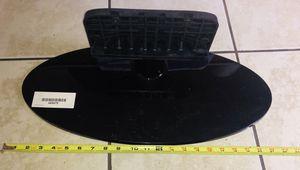 Photo Black Flat Screen TV Stand