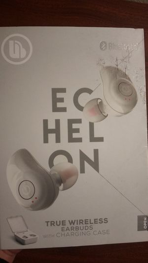 MERKURY ECHELON True Wireless Ear buds with Charging Case for Sale in Pacheco, CA