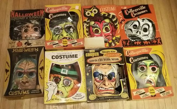 Vintage Halloween Costumes In A Box.Eight Vintage Halloween Costumes With Boxes For Sale In Rockford Il Offerup
