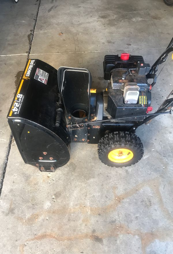 Snow Blower For Sale In Glendale Heights Il Offerup