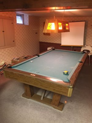 By Brunswick Pool Table For Sale In Tunkhannock PA OfferUp - 4 x 8 brunswick pool table