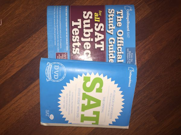 College Board SAT and Subject Test study guides for Sale in Waterbury, CT -  OfferUp