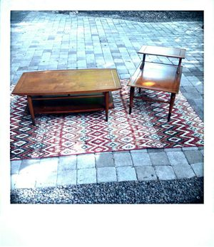 Mid Century Lane coffee and end table set for Sale in Tampa, FL