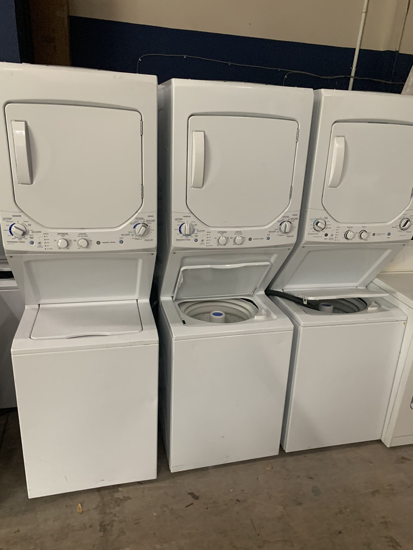 Ge Stackable Washer Dryer