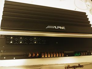 Alpine 4 channels for Sale in Irving, TX