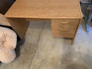 wood desk 23×43.5×28 for Sale in Reston, VA