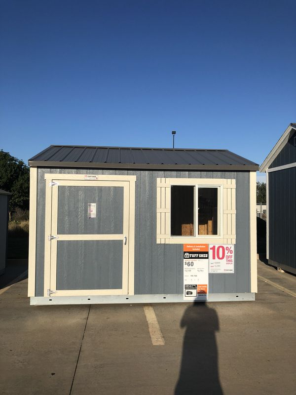 Tuff Shed 10x12 TR700 Display For Sale At Skillman Home Depot for Sale in  Dallas, TX - OfferUp