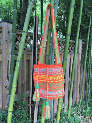 Authentic handmade Colombian Wuayu Bag for Sale in Rockville, MD