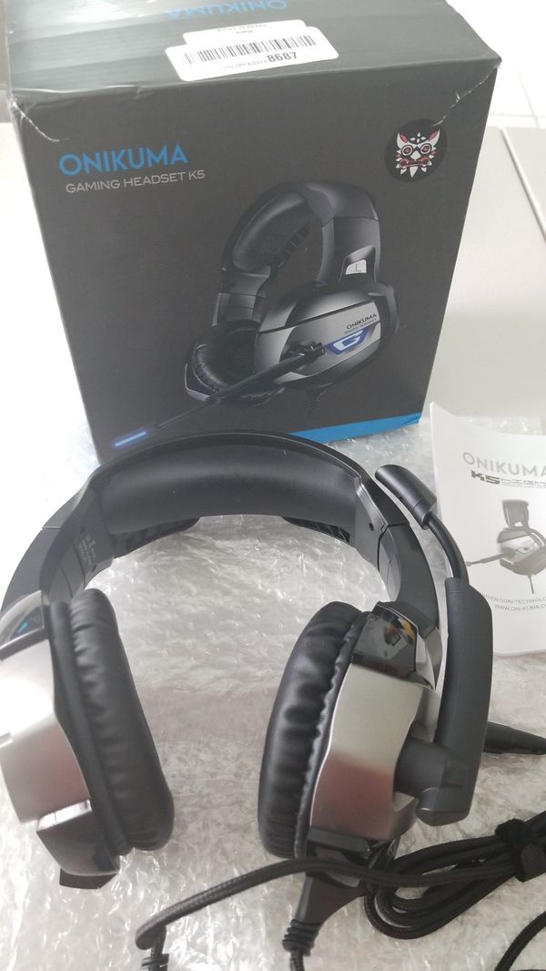 ONIKUMA GAMING HEADSET K5 for Sale in Adelanto, CA - OfferUp