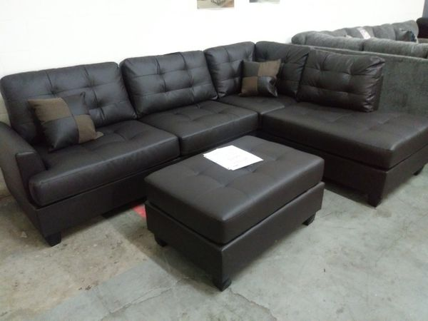 New sectional sofa with ottoman/ Nuevo sofa de Esquina (Furniture ...