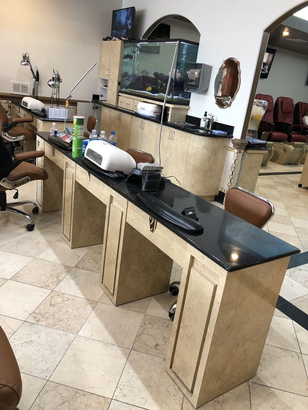 Nail Salon Desks for Sale in League City, TX - OfferUp