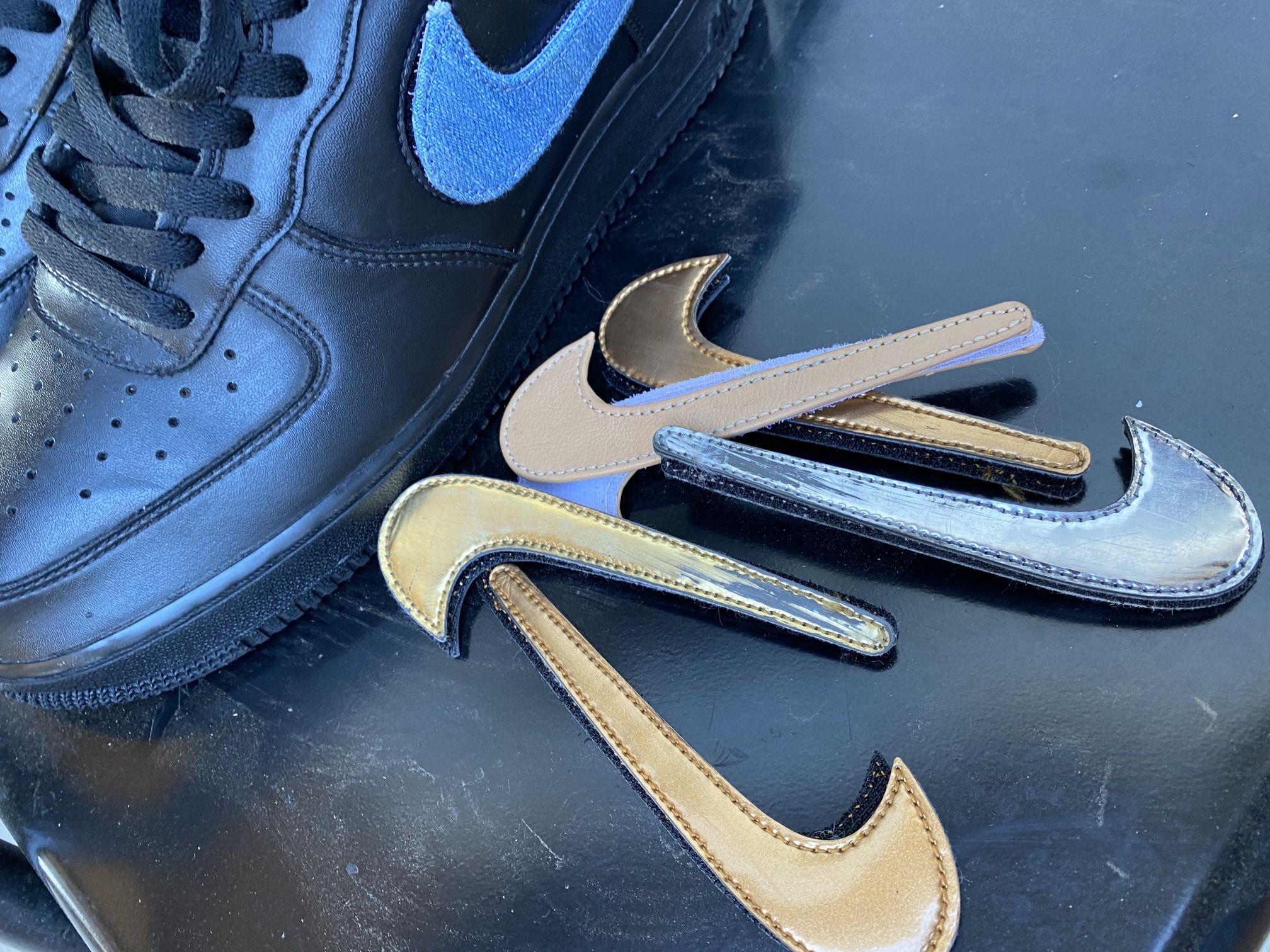 Nike AF1 Removable swoosh