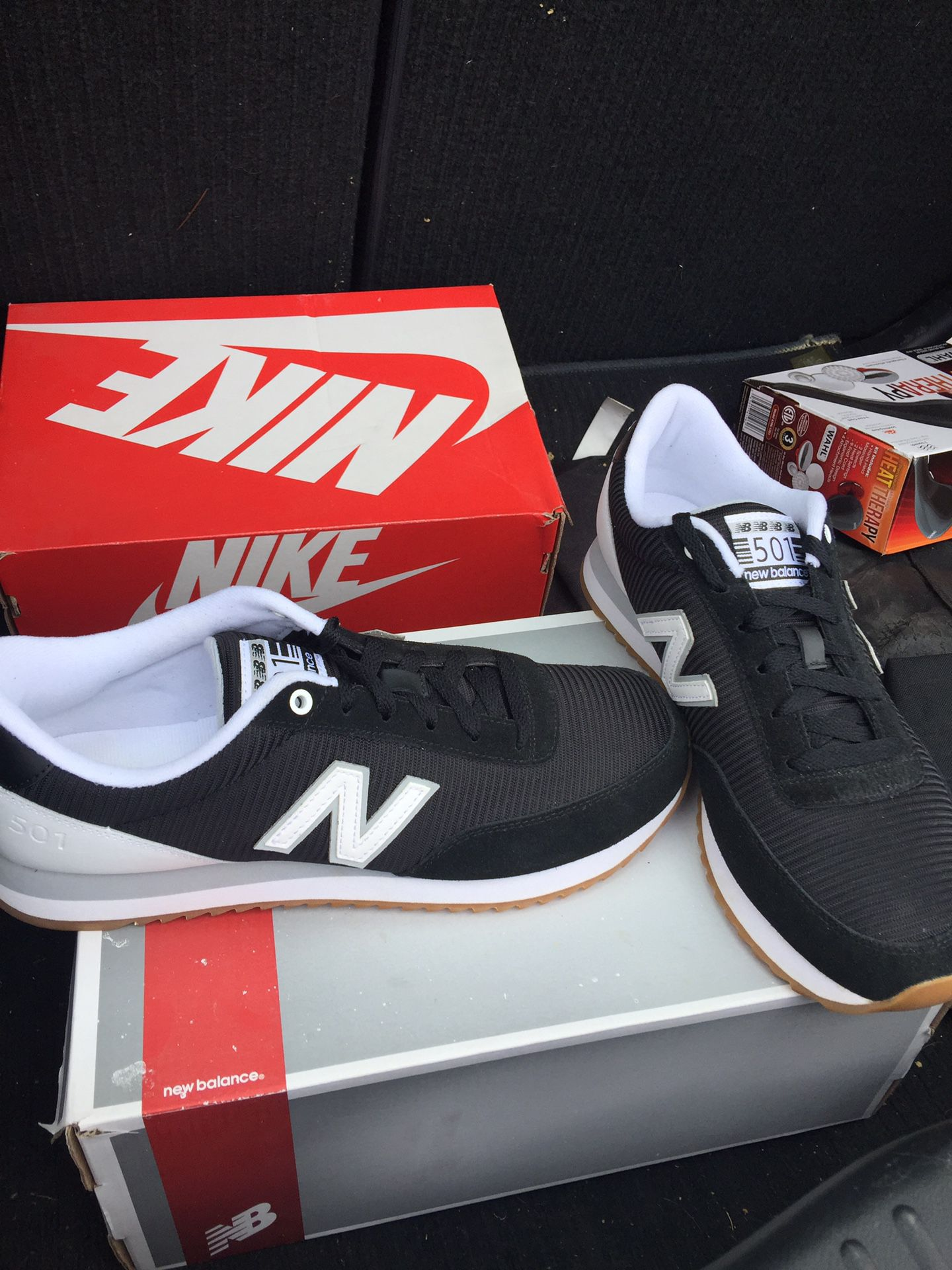 New Balance 501's