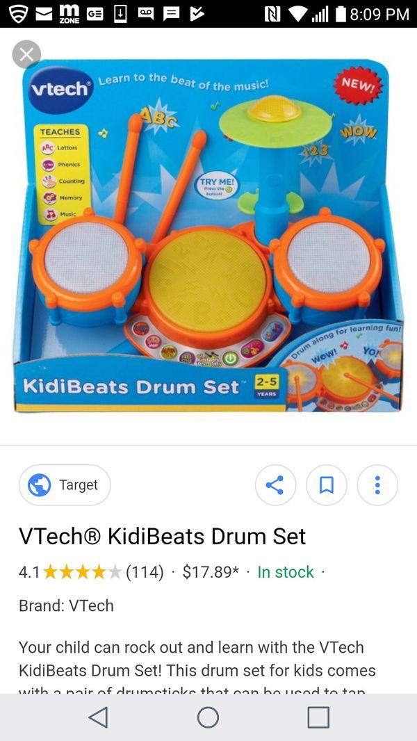 Vtech Light Up Drum Set For Sale In Mesa Az Offerup