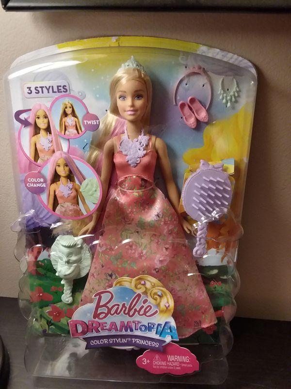 Barbie Dreamtopia Color Stylin Princess For Sale In Bellevue Wa