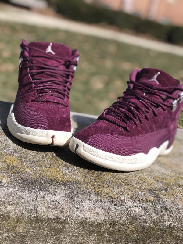 """5a539fc627c5c3 Air Jordan 12 """" Bordeaux"""" (Clothing   Shoes) in Richmond"""