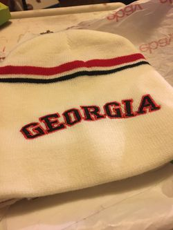 Georgia bulldog stocking hats Thumbnail