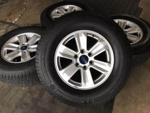 Photo Ford f150 wheels and tires michelin Lt load E