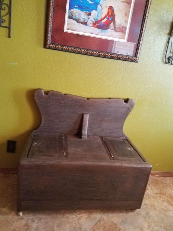 Rustic antique Entryway/Hall Bench (Furniture) in Apache Junction, AZ -  OfferUp - Rustic Antique Entryway/Hall Bench (Furniture) In Apache Junction