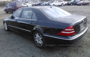 2002 MERCEDES S430 PARTS for Sale in Gaithersburg, MD