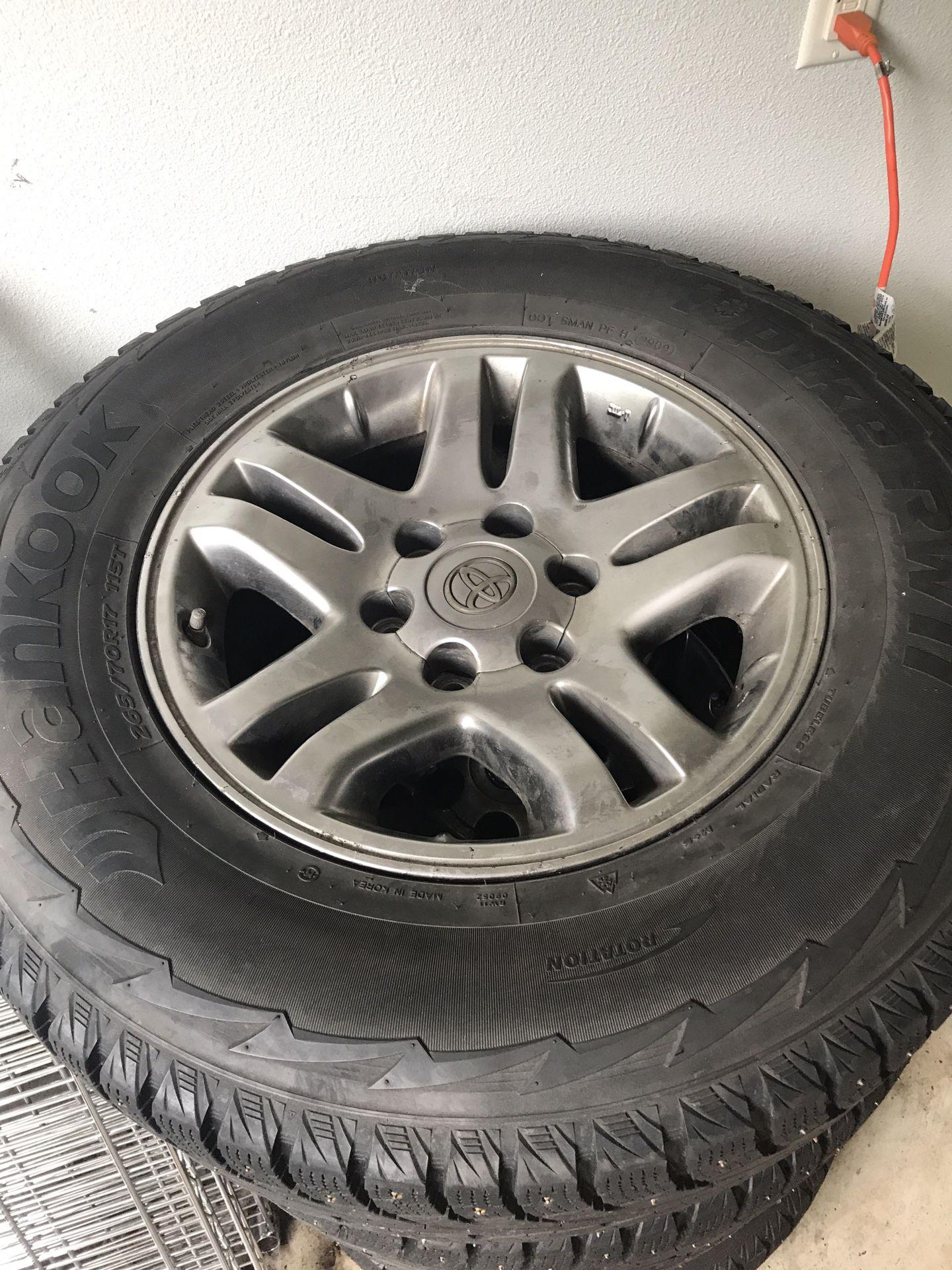 Toyota 4Runner Snow Tires + Wheels