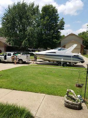28ft. Cabin cruiser for sale  Broken Arrow, OK