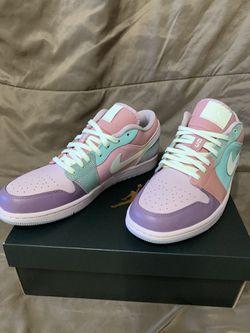 "Air Jordan 1 Low ""Easter Pastel"" Size 10 Thumbnail"