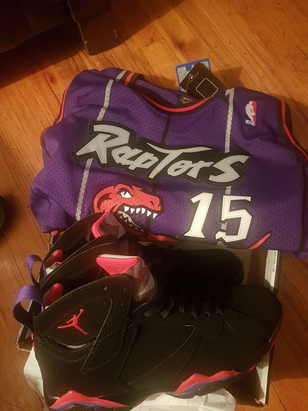1e639471902100 Air Jordan Raptors 7 with Raptors throwback for Sale in New York