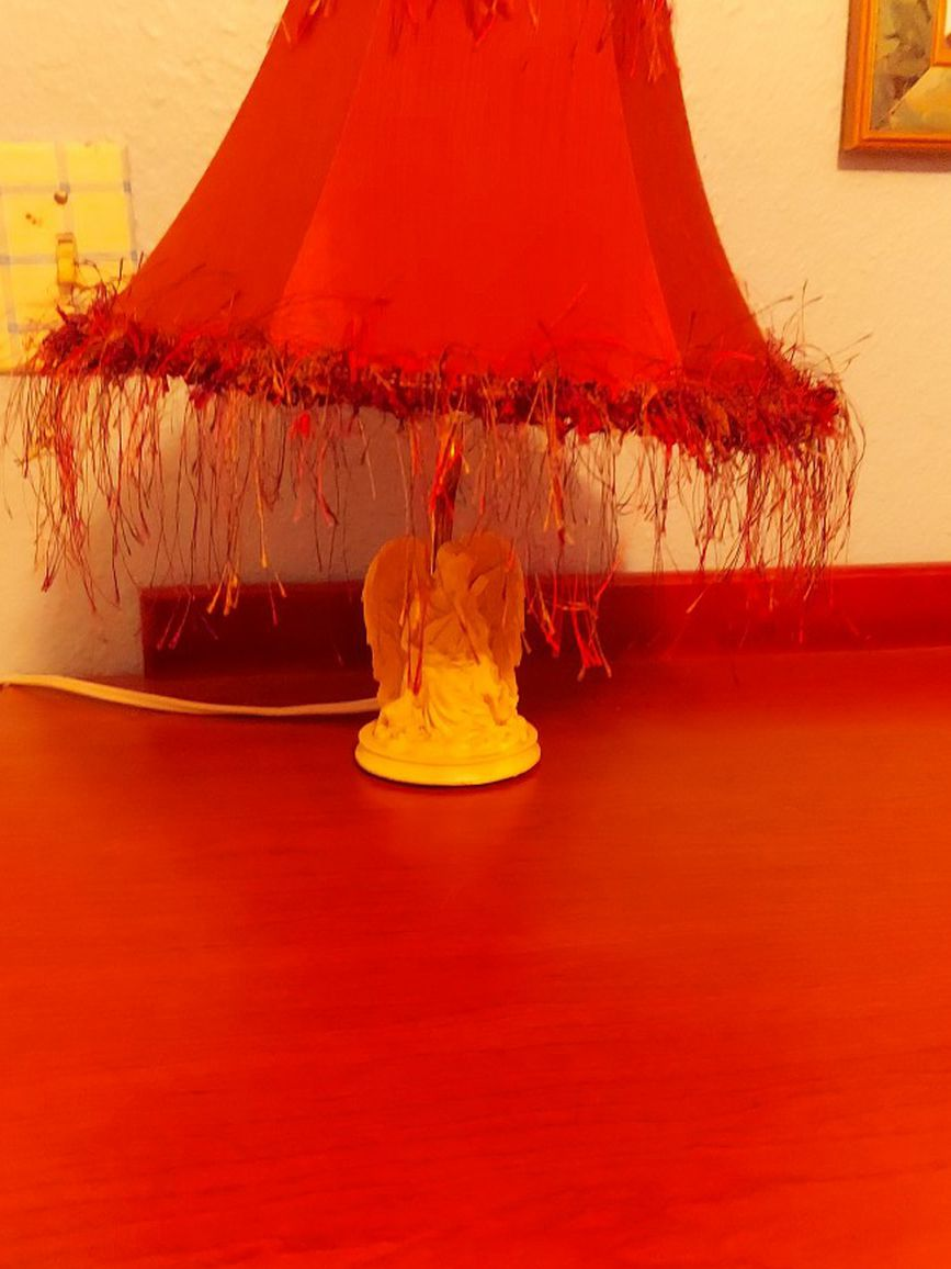 Small Angel Lamp