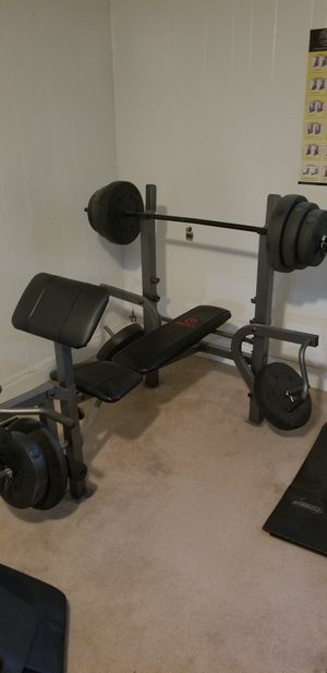 Marcy weight bench set for Sale in Fort Washington, MD