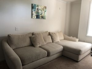 Beige Sofa for Sale in Woodbridge, VA