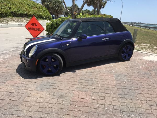 2005 Mini Cooper S Convertible Upgrades For Sale In Miami Fl