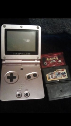 Gba sp with games ($50 obo) for Sale in Fresno, CA