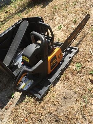 "Poulan Pro 18"" Chainsaw 42cc w/ new Oregon bar and chain for Sale in Mount Dora, FL"