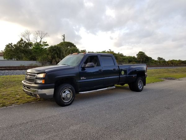 2005 Chevrolet Silverado 3500 4x4 Dually Duramax For Sale In Ocean Ridge Fl Offerup