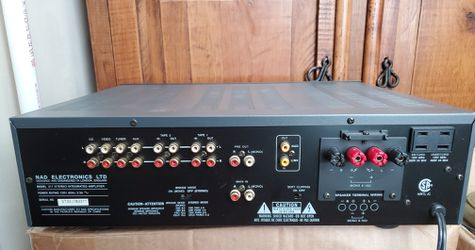 Nad 317 Solid State Intergrated Amplifier Thumbnail