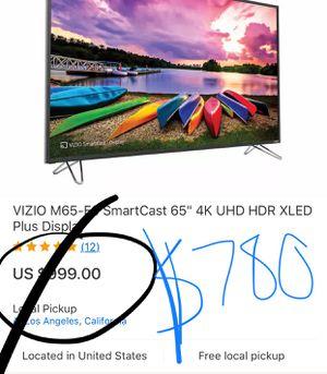 Vizio 65 brand new for Sale in Atlanta, GA
