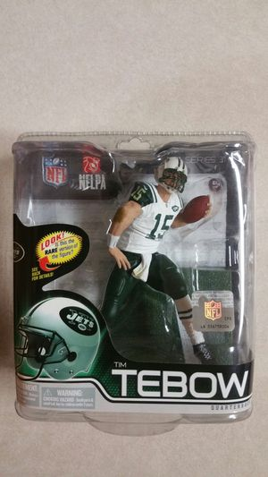 2012 Tim Tebow, Mcfarlane toys NFL action figure New York Jets. for Sale in Tolleson, AZ